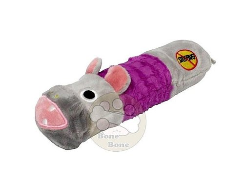 美國Petstages迷你嗶波河馬/寵物玩具/狗狗玩具/無填充玩具/嗶嗶玩具