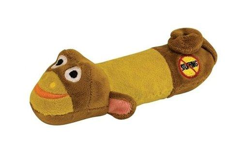 美國Petstages迷你嗶波猴子/寵物玩具/狗狗玩具/無填充玩具/嗶嗶玩具