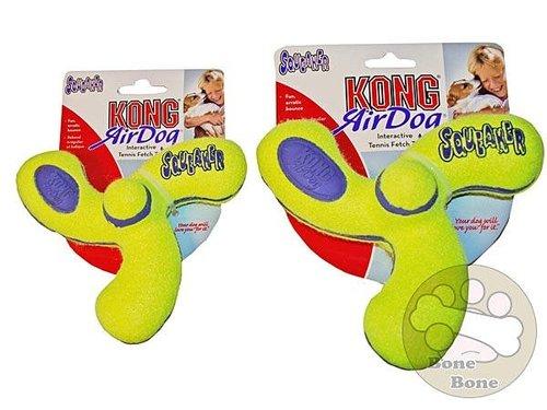 Kong玩具 AirDog Kong 彈力浮水螺旋槳 M號