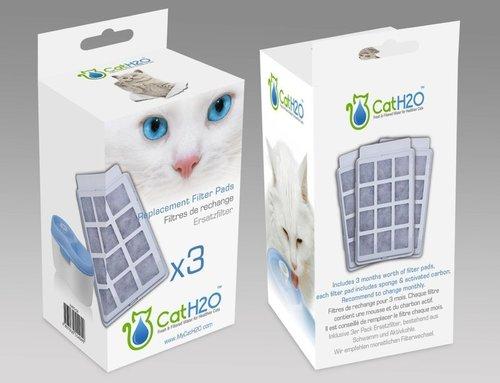 Dog&Cat H2O有氧濾水機/三片濾心(盒裝)