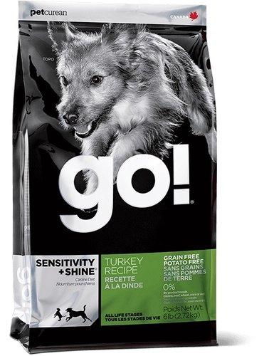 加拿大GO! 天然犬糧/狗狗飼料 25LB 低致敏火雞肉無穀配方