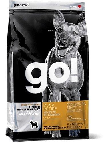 加拿大GO! 天然犬糧/狗狗飼料 25LB 低致敏鴨肉無穀配方