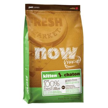 加拿大NOW FRESH™ -16LB鮮肉無穀天然糧 幼母貓配方