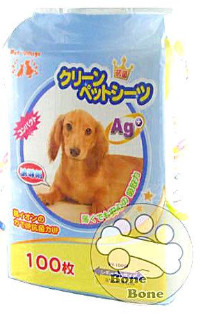 Pet village 寵物魔法村-誘導型/寵物尿布/誘導劑寵物尿布 100入(超取限一包)
