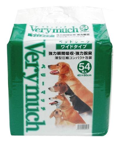 VERYMUCH 犬貓除臭抗菌尿片/尿布/大54入(超取限一包)