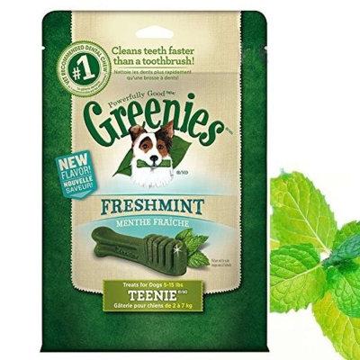 Greenies 健綠 薄荷 潔牙骨 12OZ 43入 2-7kg 340g 狗零食 (短效期 比大盒更划算 )