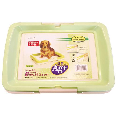 阿曼特 Armonto AMT-650平面式狗狗便盆/廁所盆/定點上廁所訓練-M號 綠色