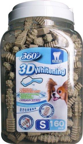 ABONES同工廠 360°  3D立體亮白潔牙骨(S)160入