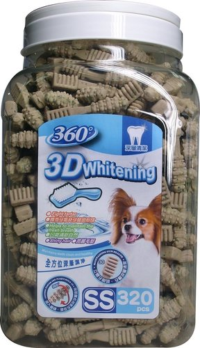 ABONES同工廠 360°  3D立體亮白潔牙骨(SS)320入