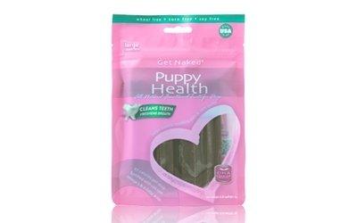 NPIC Get Naked 健納緹頂級有機保健潔牙棒-幼犬保健 (牛奶起司口味)