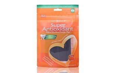 NPIC Get Naked 健納緹頂級有機保健潔牙棒-超級抗氧化 (牛奶起司口味)