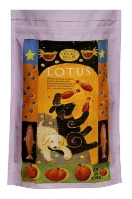 【買即送折價券】LOTUS樂特斯 慢焙狗乾糧飼料 中顆粒 鮮雞肉佐香嫩雞肝5LB 幼犬