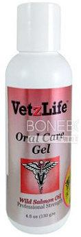 VetzLife 最新潔牙樂 天然潔牙凝膠加強版 非噴霧 (鮭魚) 寵物犬貓牙膏預防牙結石 4.5oz 130g