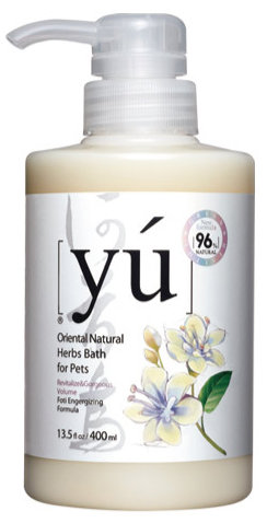 YU 東方森草保養系列寵物沐浴乳 何首烏 400ML 洗毛精