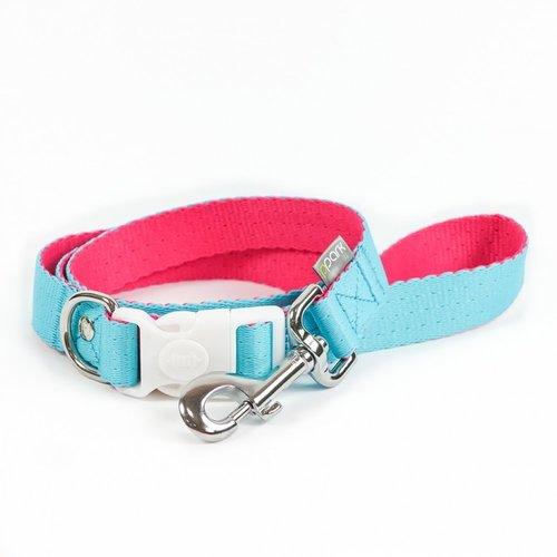 PPark 環保紗-快扣拉繩-台灣翠蛺蝶 藍+桃紅L(寬度2.5cm/120cm)