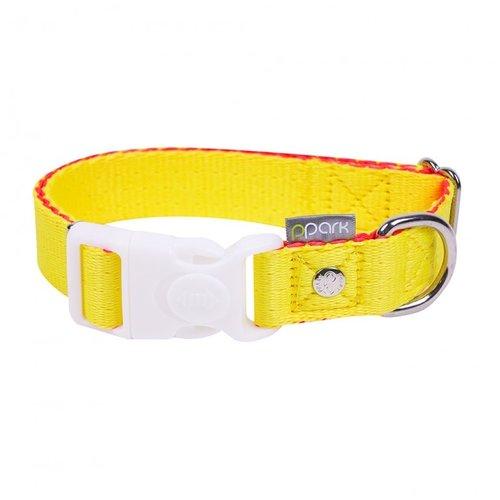 PPark 環保紗-一般項圈 / 黃 五種尺寸