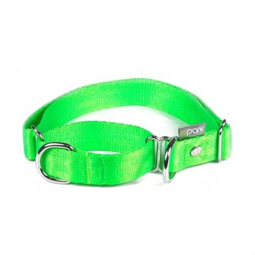 PPark 二用項圈 / 綠 四種尺寸/狗項圈/狗狗兩用項圈