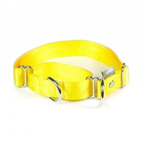 PPark 二用項圈 / 黃色 四種尺寸/狗項圈/狗狗兩用項圈