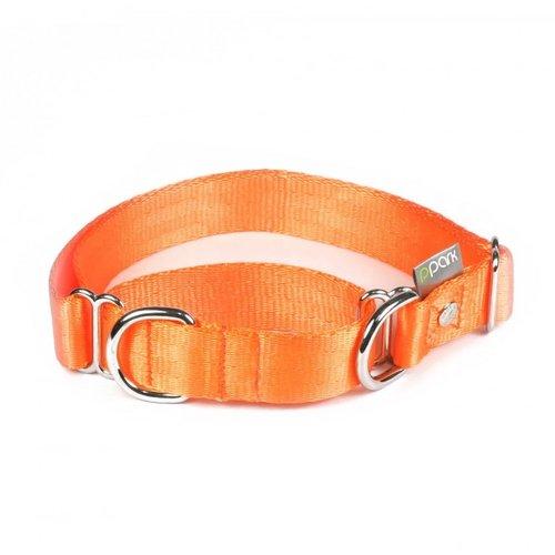 PPark 二用項圈 / 橘色 四種尺寸/狗項圈/狗狗兩用項圈