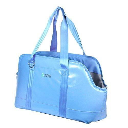 PPark -外出型寵物包(臘腸可用)-藍