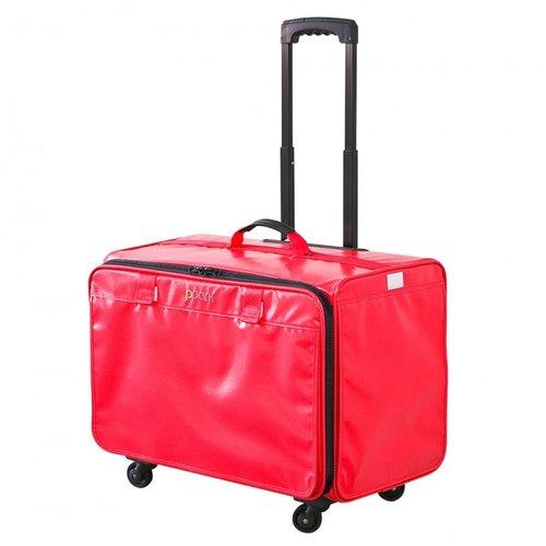 PPark -寵物拉桿包-小(機車可載)-紅色