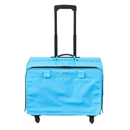 PPark -寵物拉桿包-小(機車可載)-藍色