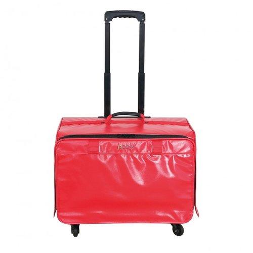 PPark -寵物拉桿包-大(法鬥可用)-紅色