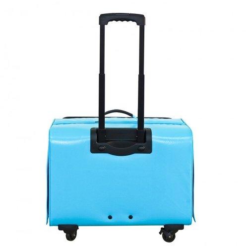 PPark -寵物拉桿包-大(法鬥可用)-藍色