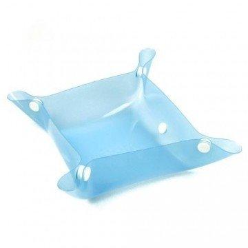 PPark -攜帶型寵物碗/藍色/兩種尺寸