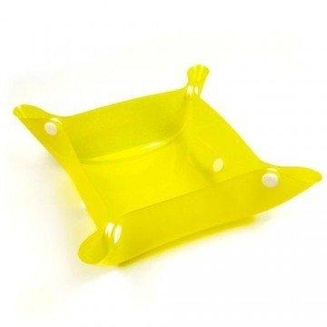 PPark -攜帶型寵物碗/黃色/兩種尺寸