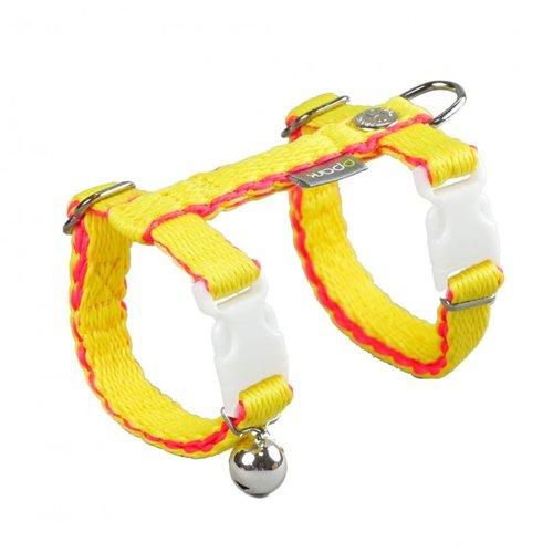 PPark -環保紗-貓胸背帶/黃/兩種尺寸