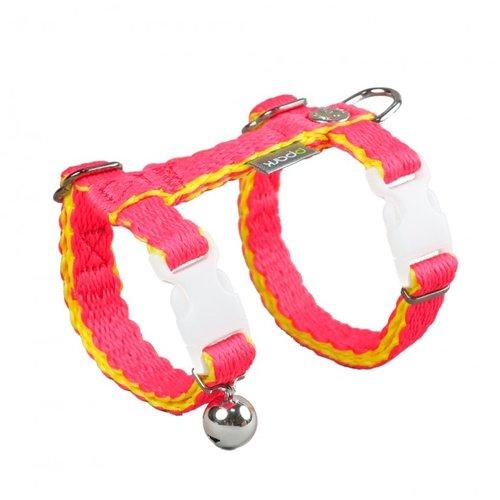 PPark -環保紗-貓胸背帶/橘紅色/兩種尺寸