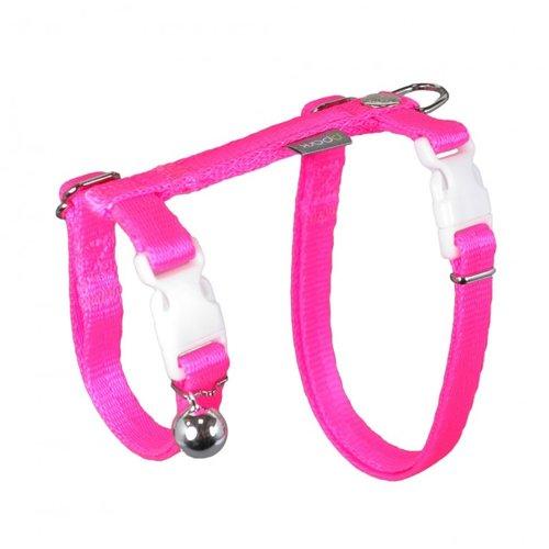 PPark - 貓胸背帶/15螢光粉紅/兩種尺寸