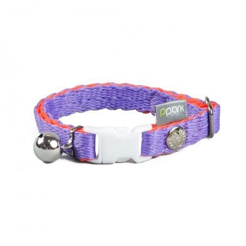 PPark - 環保紗-貓項圈/紫色/單一尺寸