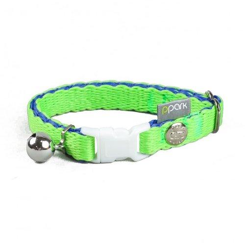 PPark - 環保紗-貓項圈/綠色/單一尺寸