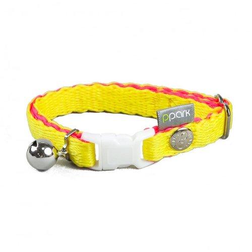 PPark - 環保紗-貓項圈/黃色/單一尺寸