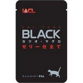日本 iACL BLACK 貓咪餐包/寵物蒸鮮包/巧鮮包 貓餐包 60g (鮪魚+鰹魚)