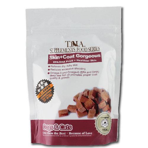 T.N.A.悠遊保健 全效EPA/DHA毛髮保健強化營養錠 80錠 狗保健 寵物營養錠 毛髮保健