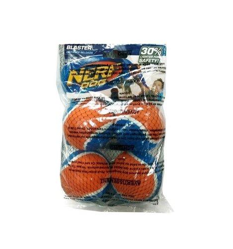 NERF 寵物互動拋接球-網球 (4顆/袋) 狗玩具 追球遊戲 戶外玩具