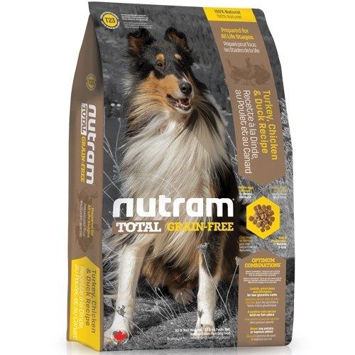 (下殺999元) nutram紐頓-T23無榖潔牙全齡犬(火雞+雞肉+鴨肉)2.72kg