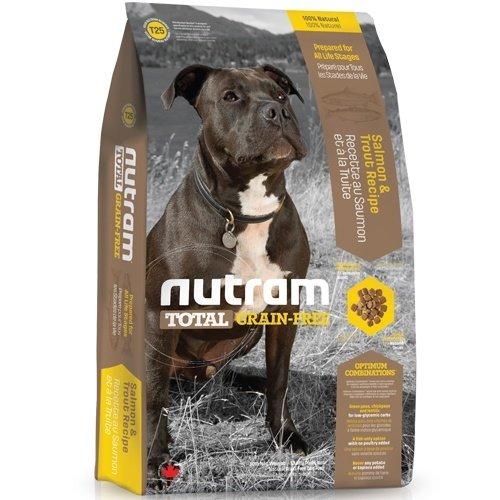 (下殺999元) nutram紐頓-T25無榖潔牙全齡犬(鮭魚+鱒魚)2.72kg