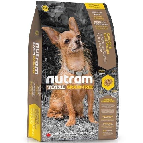 (下殺999元) nutram紐頓-T28無榖挑嘴小型犬(鮭魚+鱒魚)2.72kg