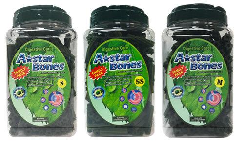 A-Star Bone/A-Bones六星棒潔牙骨/六星螺旋 -幫助腸胃消化/大桶裝 家庭號桶裝 SS/S/M