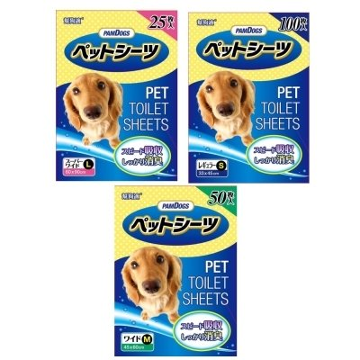 日本 幫狗適 超吸收+消臭尿布 S/M/L 號 狗尿布/犬用尿布 尿布墊 尿墊/超取限下一包