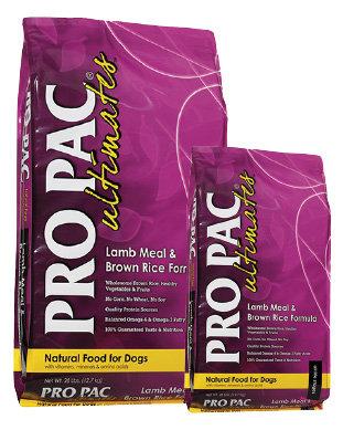 美國柏克PRO PAC天然糧-成犬(羊肉+糙米+蘋果)5LB/PK-0022成犬飼料/狗飼料/犬糧
