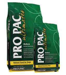 美國柏克PRO PAC天然糧-高齡犬(雞肉+糙米+藍莓)5LB/PK-0032熟齡犬飼料/老犬飼料/減肥犬/綠包裝