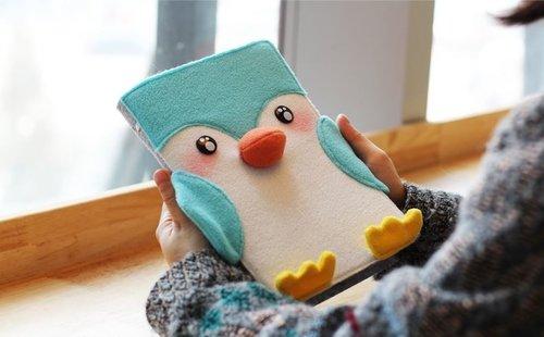 可愛企鵝筆記本