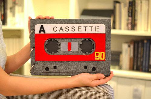 DIY磁帶相冊