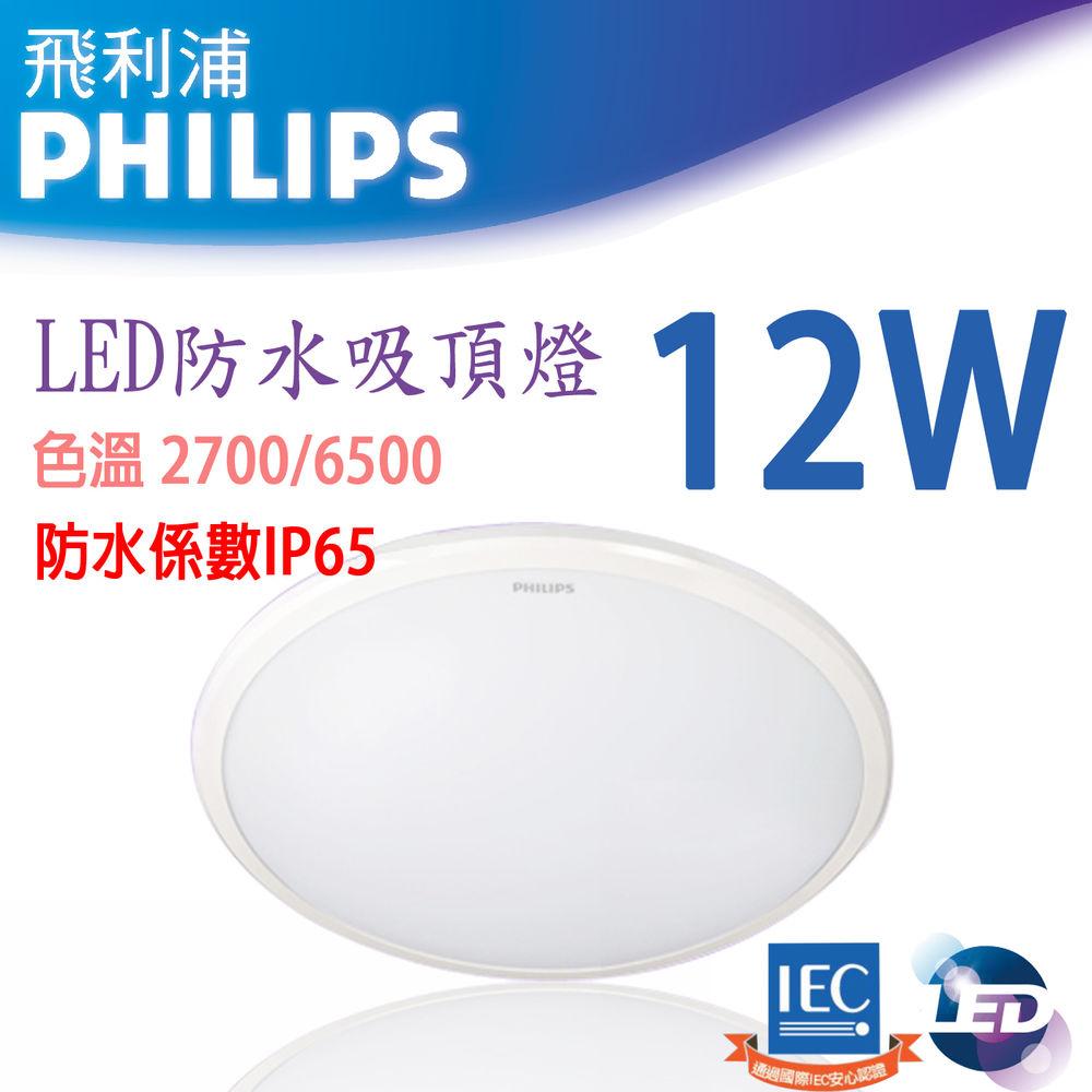 LED 吸頂燈 12W (IP65最高防水等級)