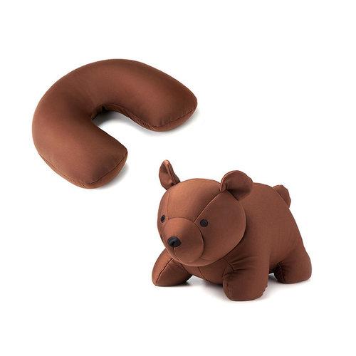 小熊變成U型枕